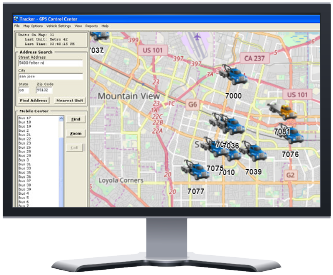 Radio Airtime Fleet Tracking GPS AVL San Francisco